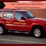Top 5 Questions to Ask Before Buying Car Insurance