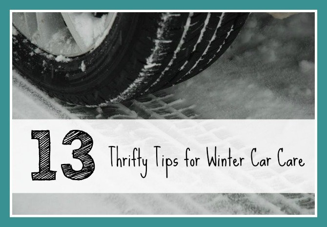 13 Thrifty Tips for Winter Car Care