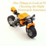 Five Things to Look at When Choosing the Right Motorcycle Insurance